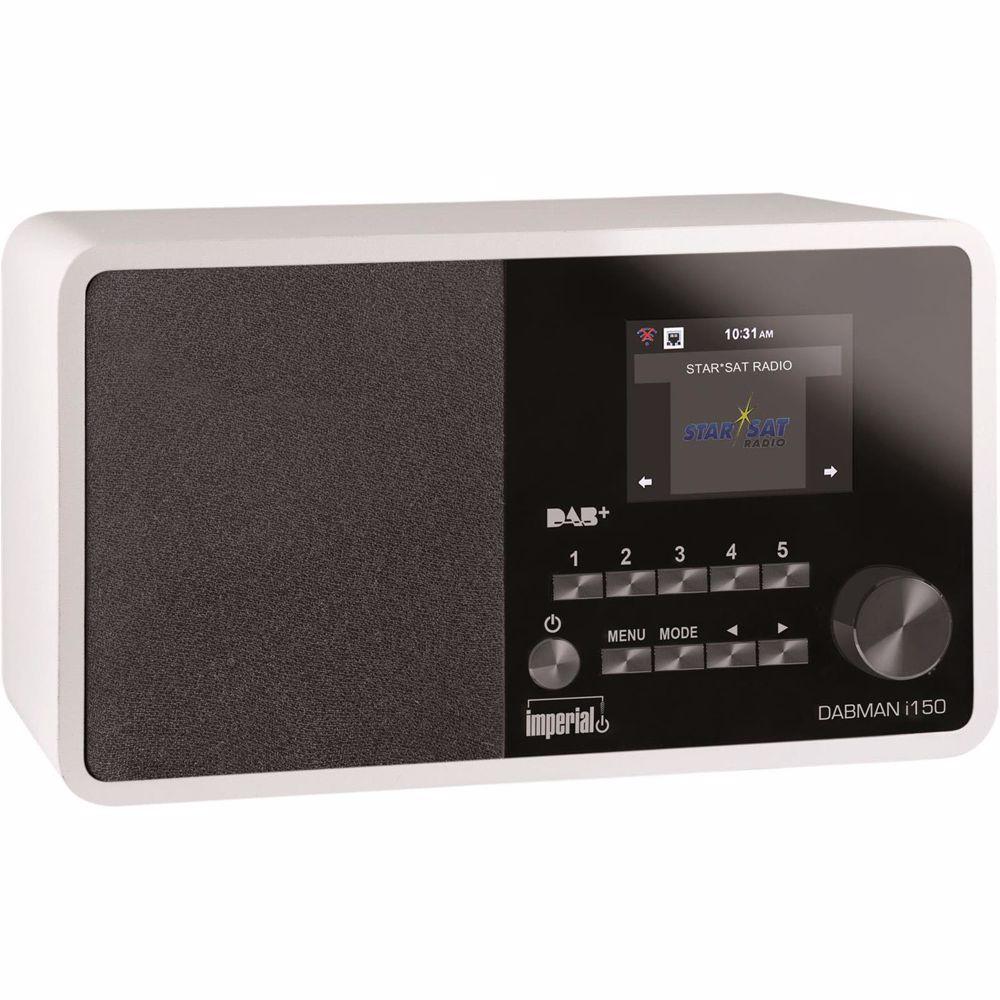 Imperial DAB radio DABMAN I150 (Wit)
