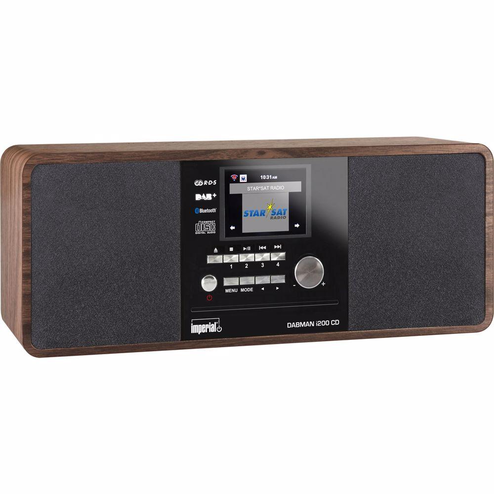 Imperial DAB radio DABMAN I200 CD (Hout)