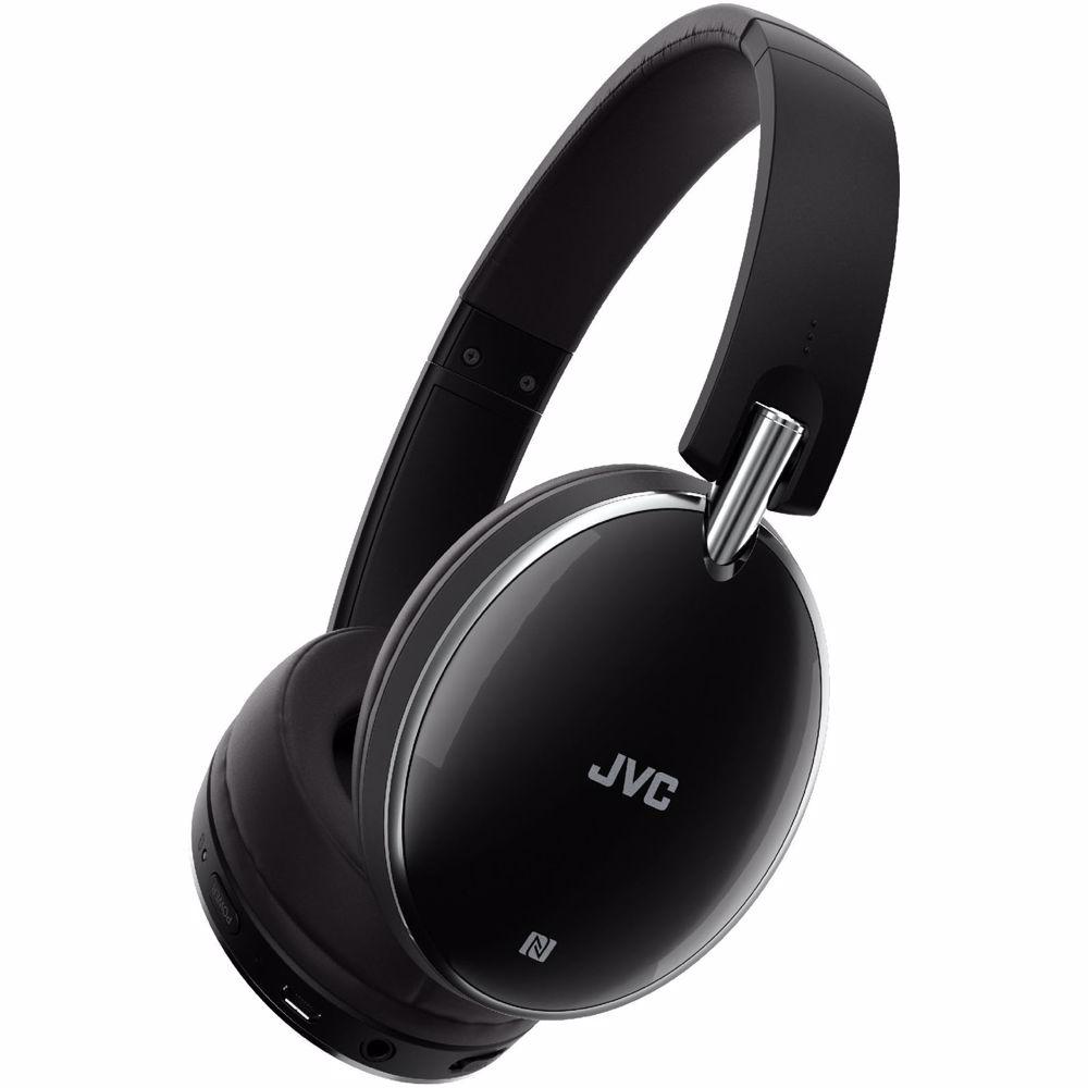 JVC draadloze hoofdtelefoon HA-S90BN-B-E (Zwart)