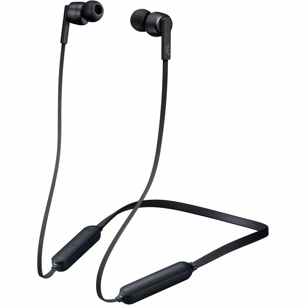 JVC draadloze hoofdtelefoon HA-FX65BN (Zwart)