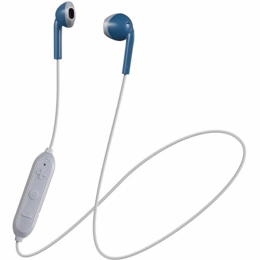 JVC draadloze hoofdtelefoon HA-F19BT-AH-E BLUE/GRAY
