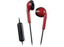 JVC in-ear hoofdtelefoon HA-F19M-RB-E (Rood/Grijs)