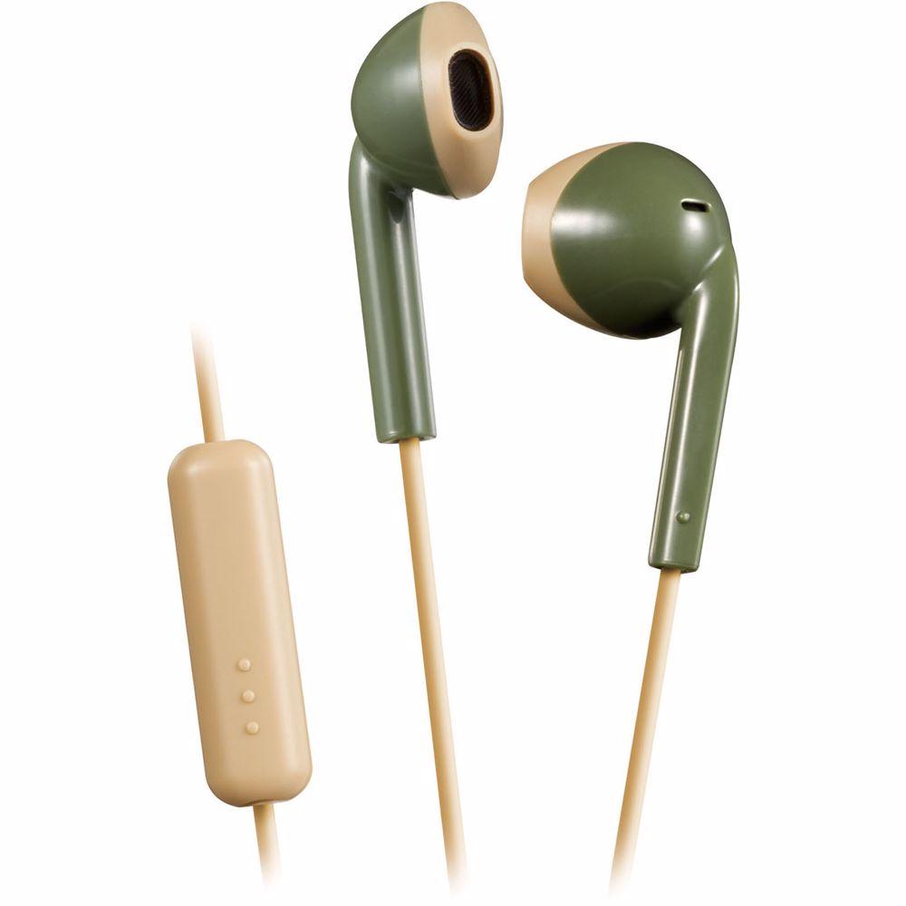 JVC in-ear hoofdtelefoon HA-F19M-GC-E (Groen/Beige)