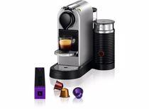 Nespresso Krups koffieapparaat CitiZ & Milk XN761B (Zilver)