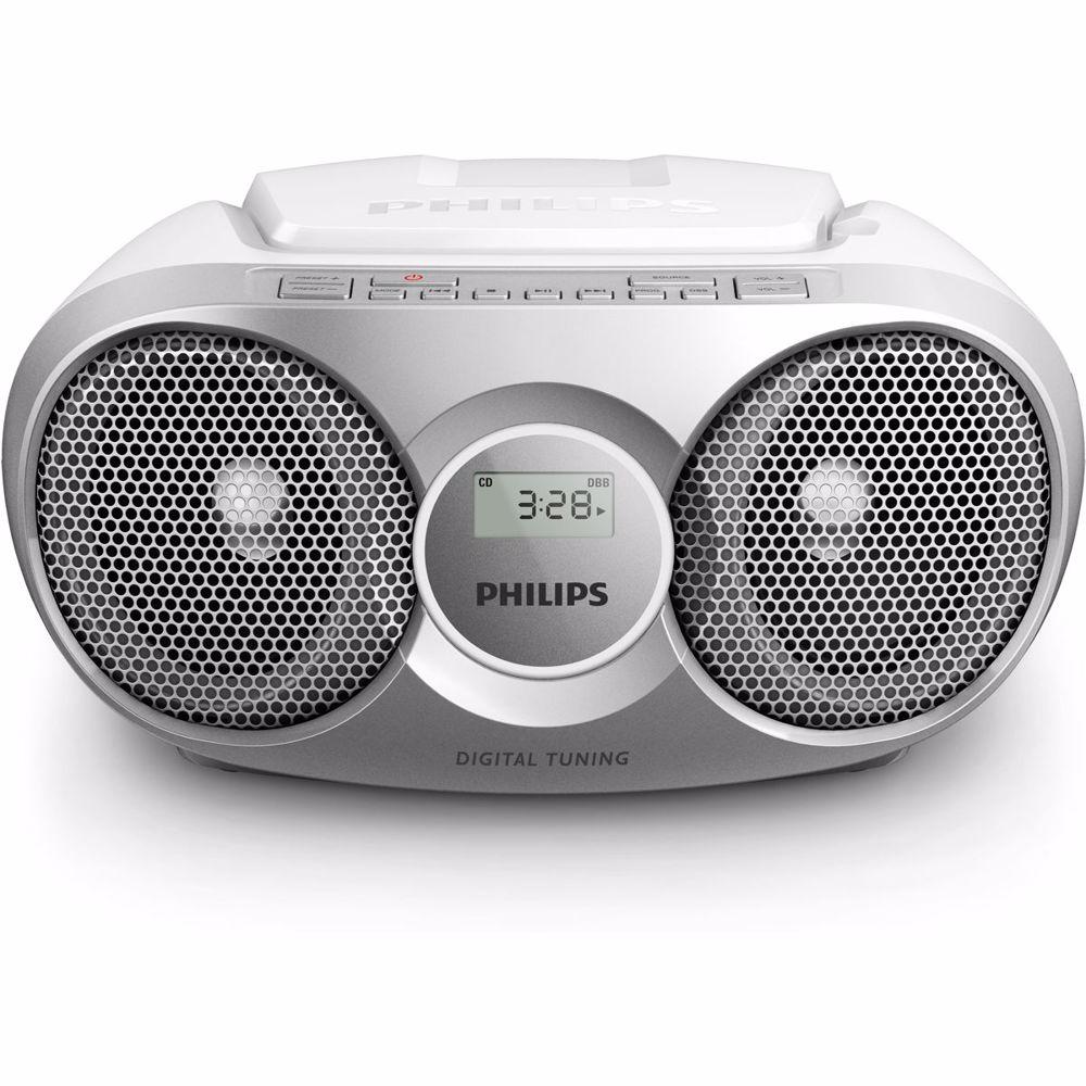 Philips radio/CD speler AZ215S/12 (Zilver)