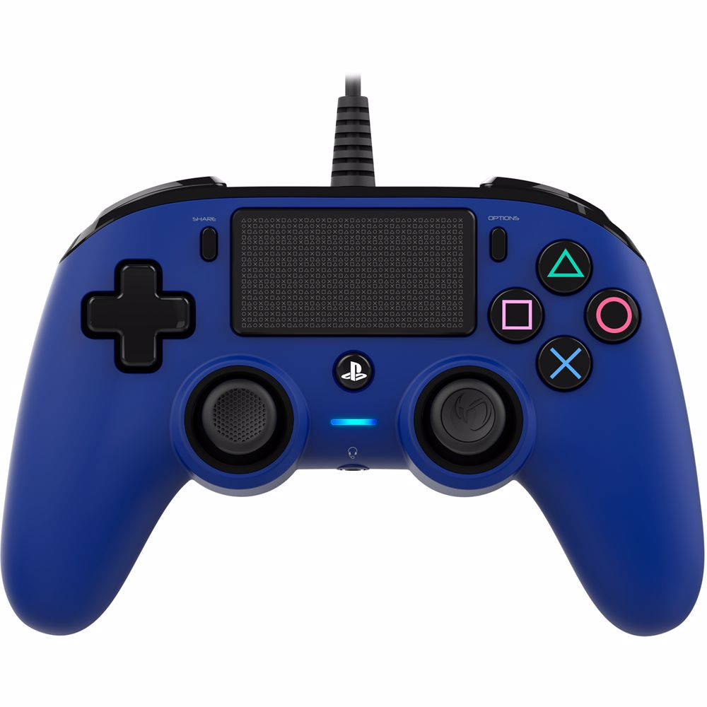 Nacon Bedrade Controller PS4 (Blauw)