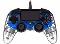 Nacon Bedrade Controller PS4 (Transparant Blauw)