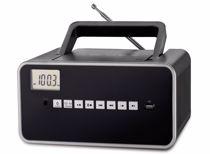Dcybel portable radio Boom Box BT (Zwart)