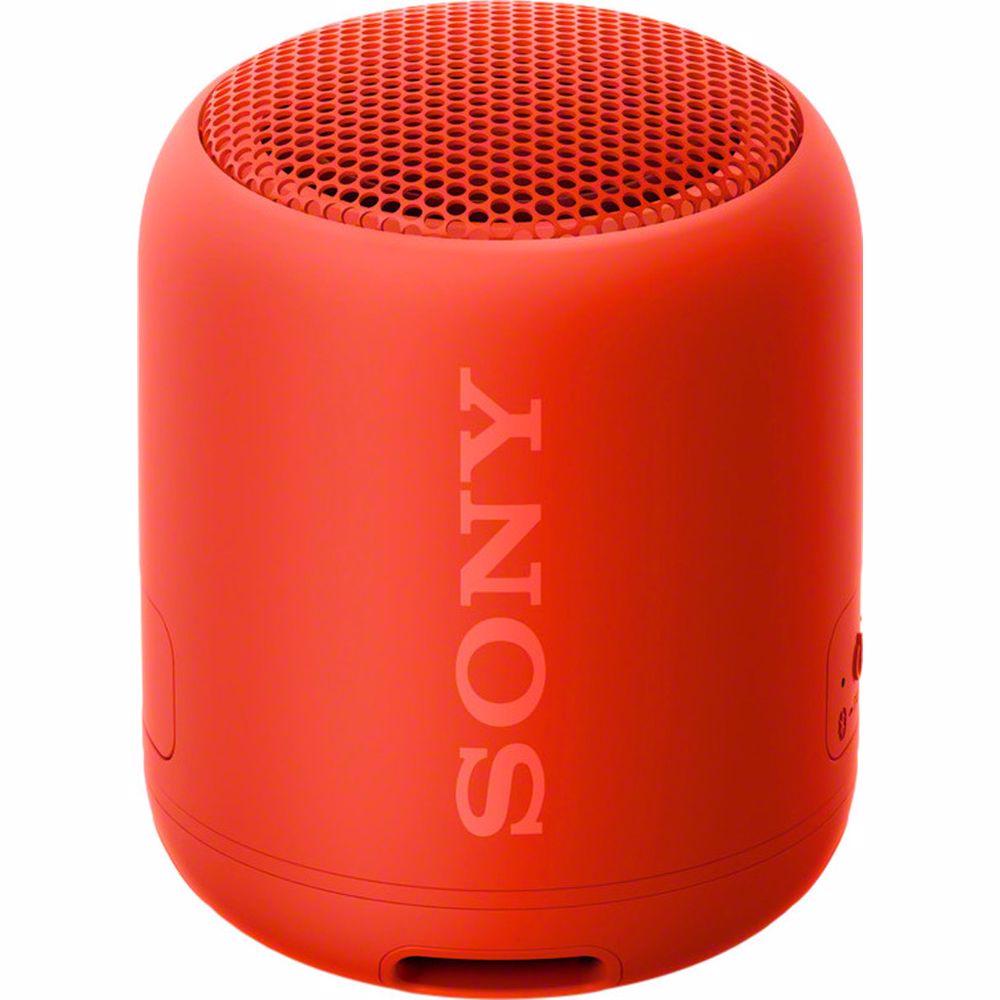 Sony bluetooth speaker SRSXB12 (Rood)