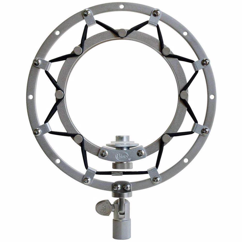 Blue Ringer Shockmount voor Snowball microfoon (Zilver)