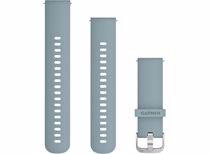 Garmin horlogeband Watch Strap 20MM. Silicone Blauw