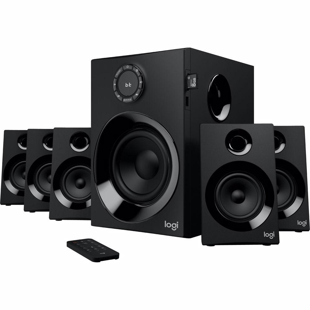 Logitech 5.1 surround speakerset Z607
