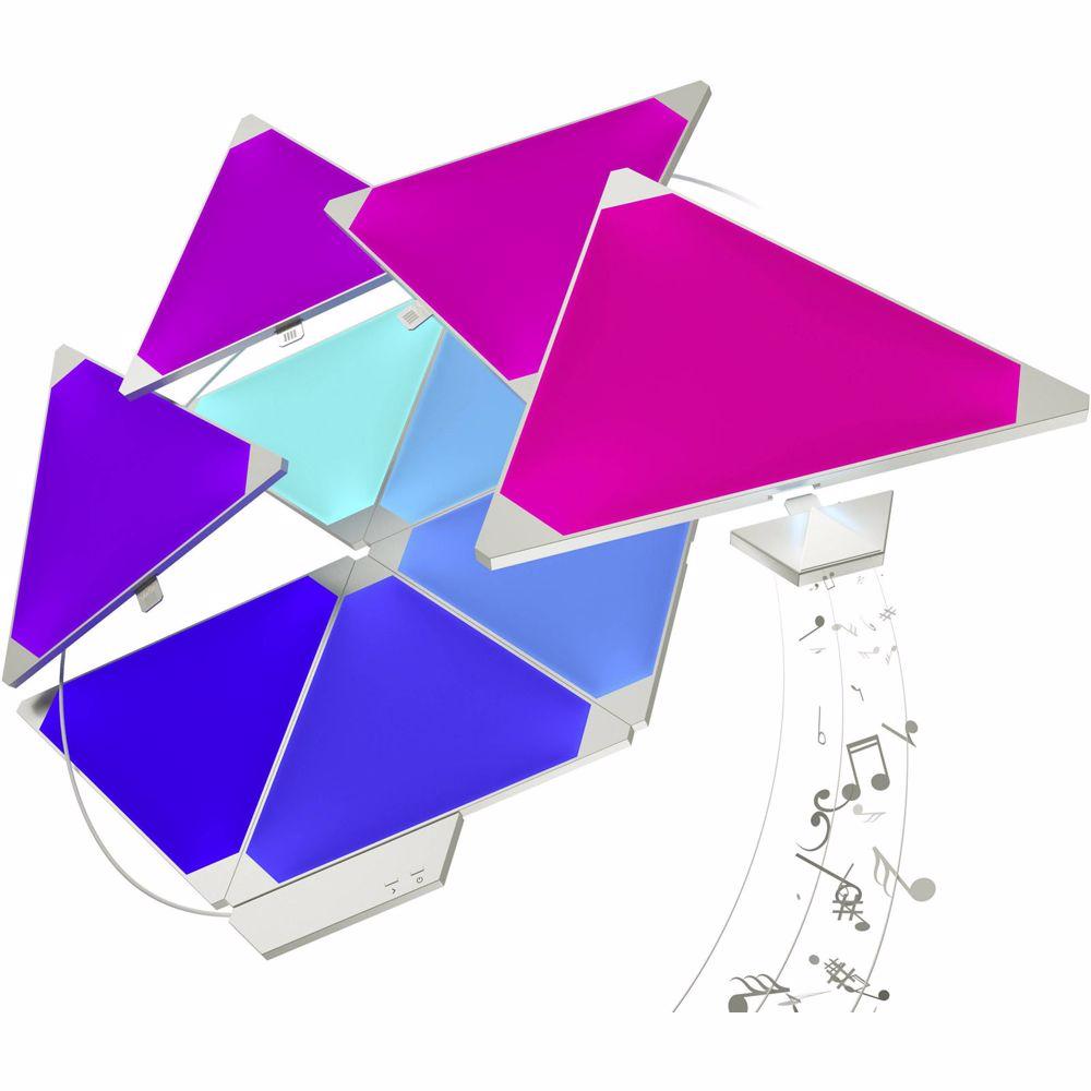 Nanoleaf Light Panels Smarter Kit Rhthym 9 panelen