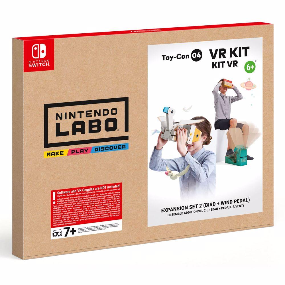 Nintendo Labo VR-Pakket Windpedaal + Vogel