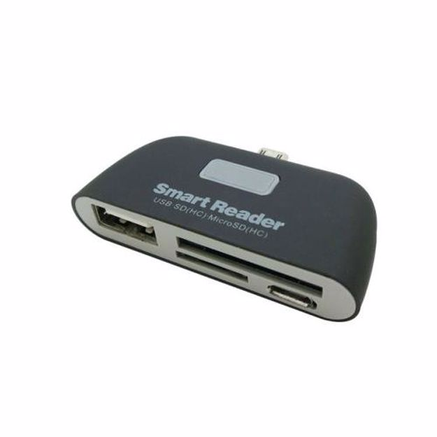 Temium micro USB 4-in-1 cardreader