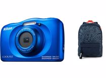 Nikon compact camera COOLPIX W150 Blauw Rugzak kit