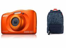 Nikon compact camera COOLPIX W150 Oranje Rugzak kit