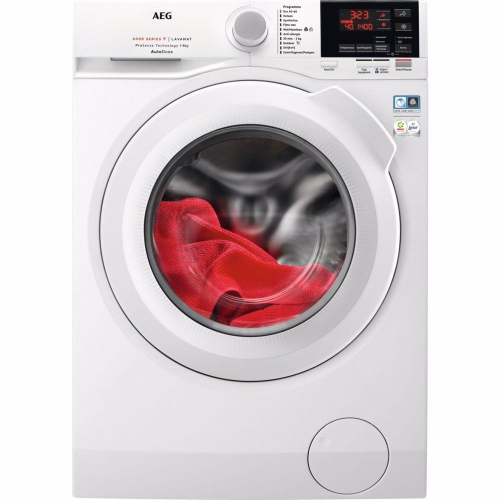 AEG ProSense AutoDose wasmachine L6FBN84GQ