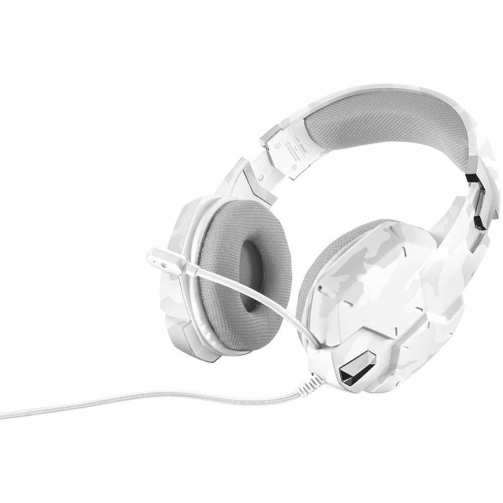 Trust gaming headset GXT 322W Carus (Wit Camo)