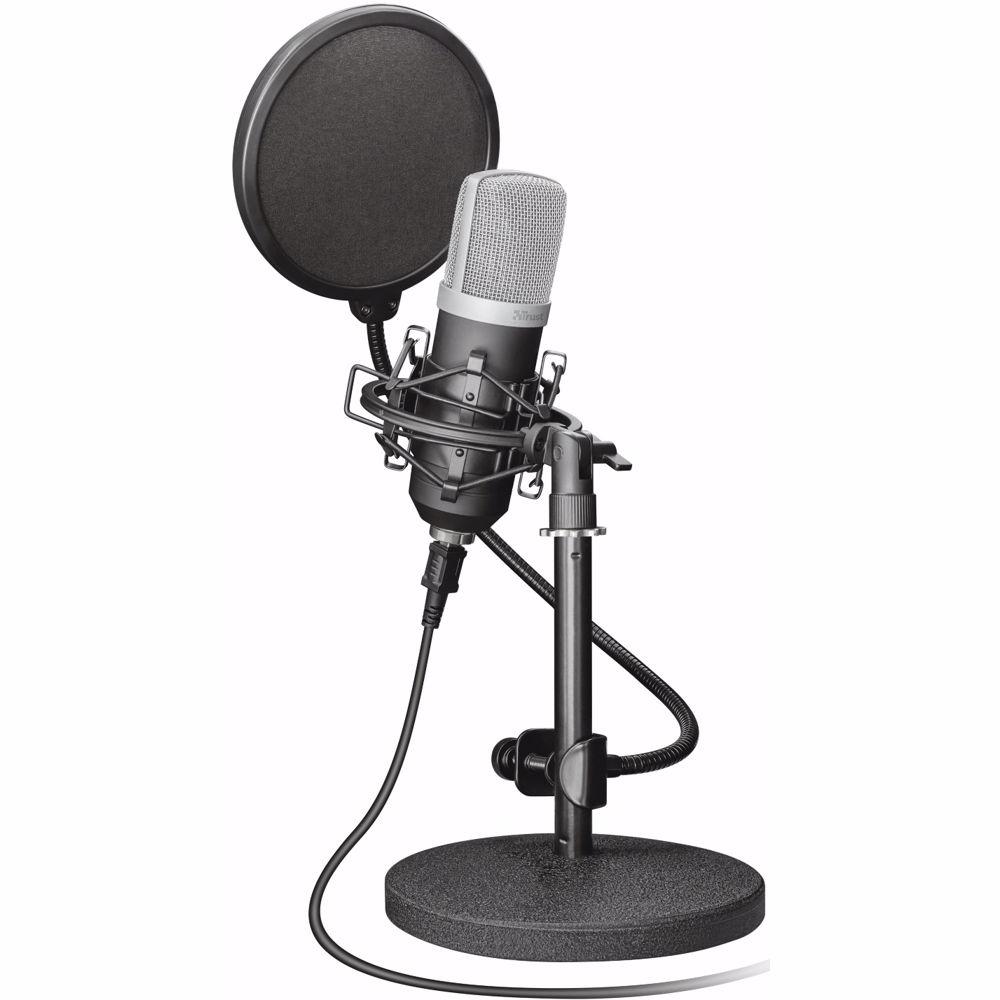Trust microfoon GXT 252 Emita (Zwart)