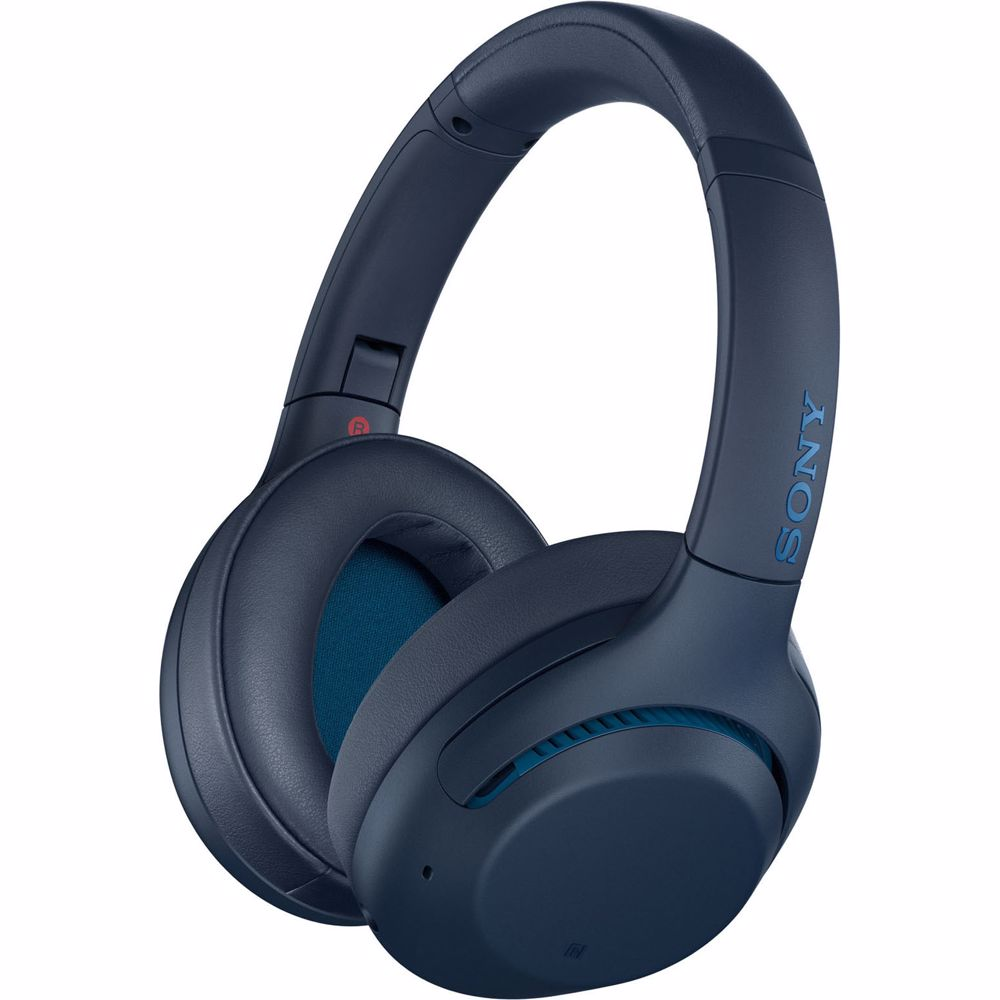 Sony draadloze hoofdtelefoon WHXB900N (Blauw)