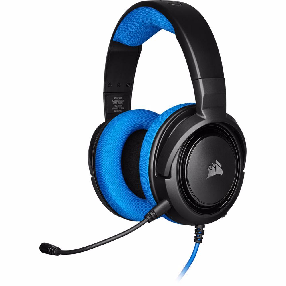 Corsair stereogaming headset HS35 (Blauw)