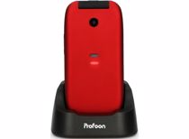 Profoon mobiele senioren telefoon PM-665 (Rood)