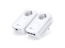 Tp-link homeplug TL-PA8033P Kit - 2 stuks (Geen WiFi)