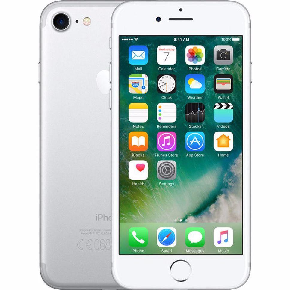 Renewd Apple iPhone 7 - 128 GB (Zilver) - Refurbished