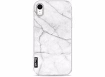 Casetastic telefoonhoesje Wit Marmer voor Apple iPhone XR