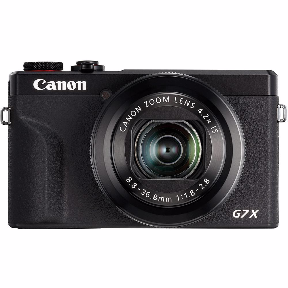 Canon compact camera PowerShot G7X Mark III (Zwart)