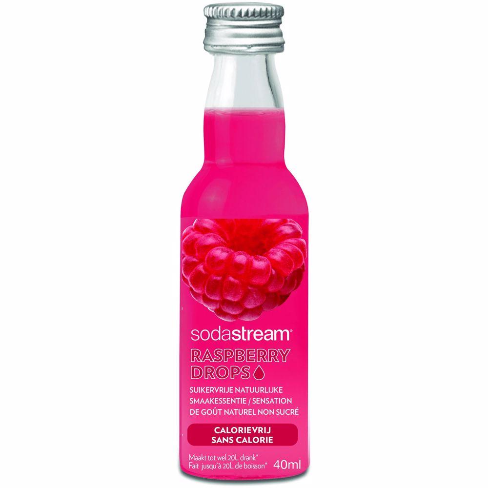 SodaStream siroop Fruit Drops Raspberry 40 ml