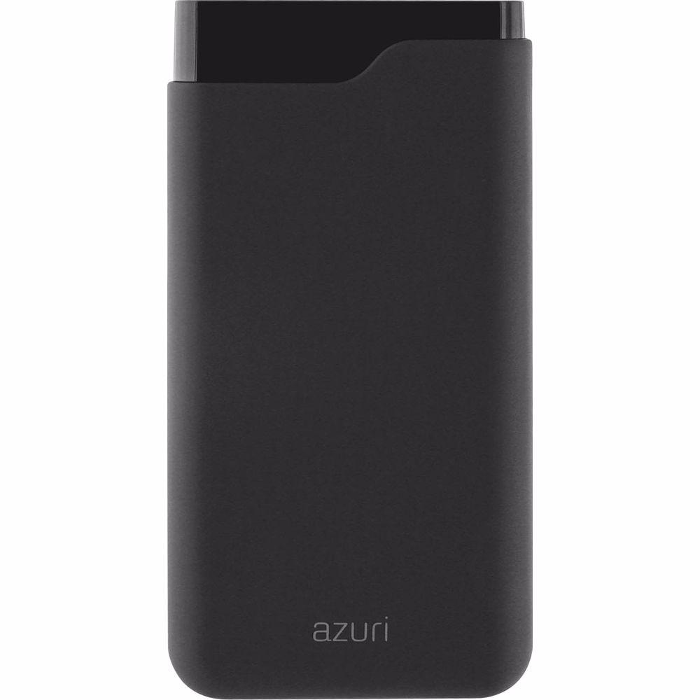 Azuri Powerbank with 1 USB-A , 1 USB-C port - 15000 mAh