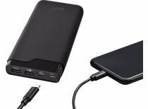 Azuri Powerbank met 2 USB-A , 1 USB-C poort - 20000 mAh