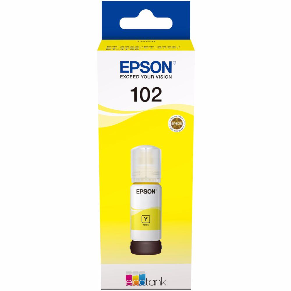 Epson cartridge Ecotank T102 (Geel)