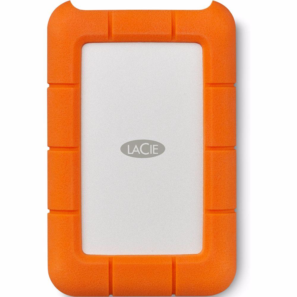 LaCie externe harde schijf Rugged USB-C 2TB