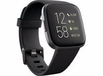 Fitbit smartwatch Versa 2 (Zwart)
