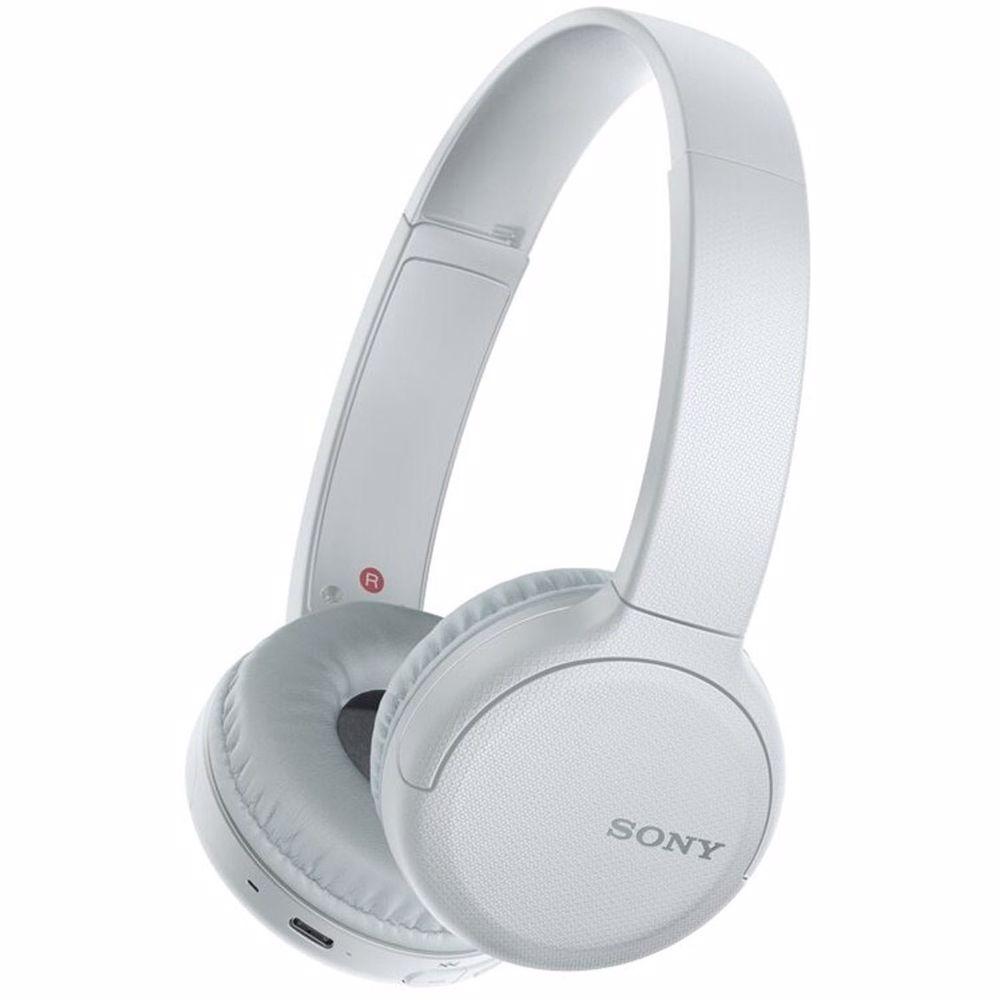 Sony draadloze hoofdtelefoon WHCH510 (Wit)