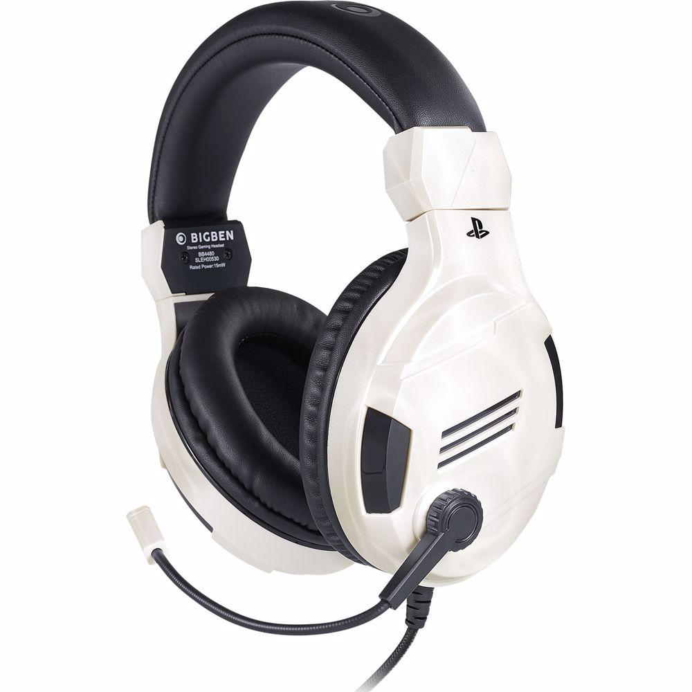 Bigben gaming headset V3 Stereo (Wit)