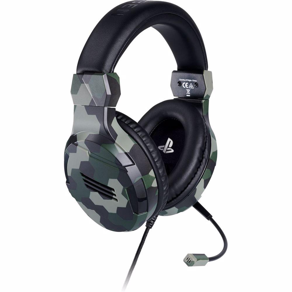 Bigben Interactive Stereo Gaming Headset V3 PS4 (Camo)