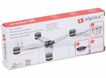 Alpina RVS Pan onderzetter