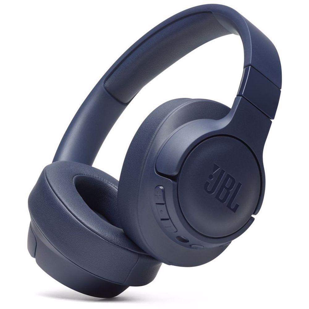 JBL draadloze hoofdtelefoon TUNE 750BTNC (Blauw)