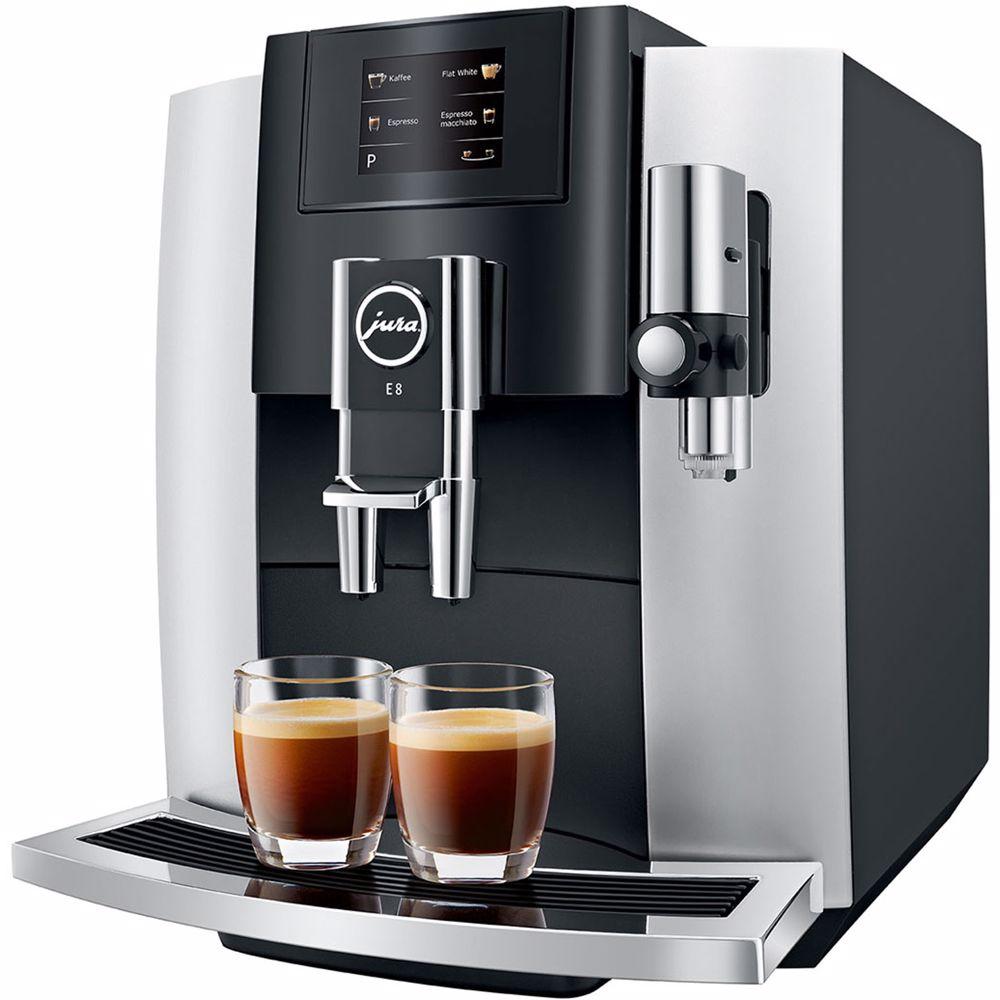 Jura espresso apparaat E8 Touch (Platina)