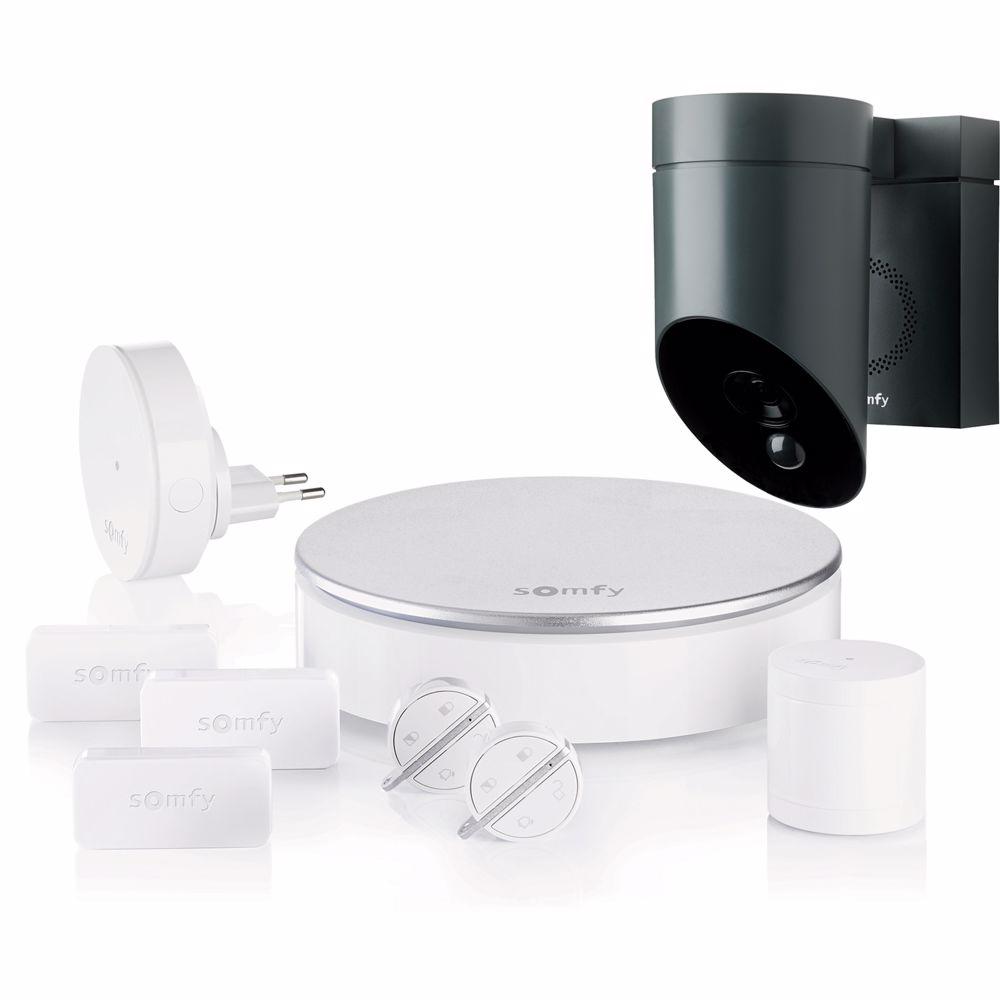 Somfy Protect Home Alarm + Outdoor Camera Bundel