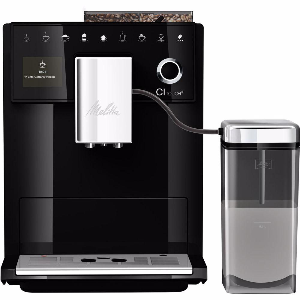 Melitta espresso apparaat CI Touch F630-102 (Zwart)