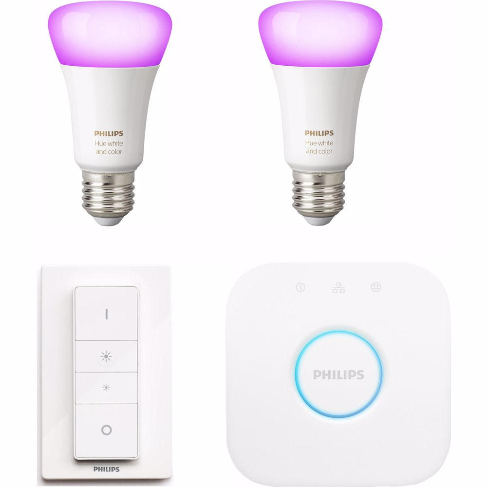 Philips White & Color Ambiance E27 Bluetooth Starterkit