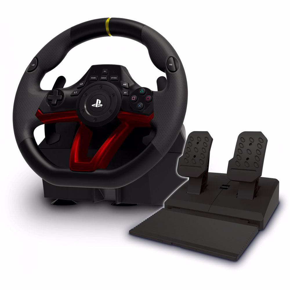 Hori Draadloze racing wheel APEX PS4/PC