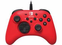 Hori bedrade controller Horipad Nintendo Switch (Rood)