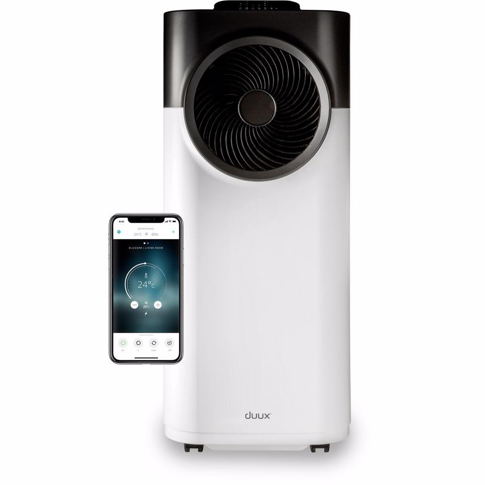 Duux mobiele airco 12K Blizzard Smart Mobile Airconditioner