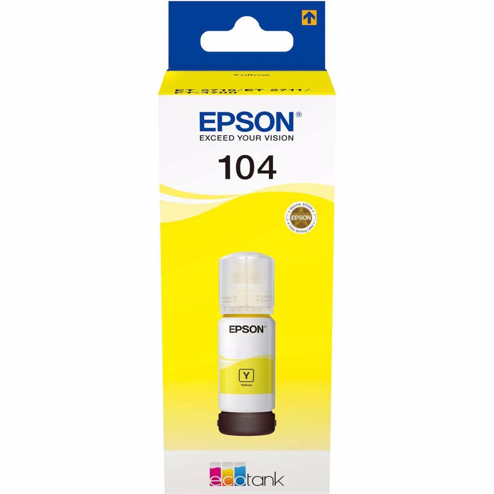 Epson cartridge ECOTANK 104 Yellow